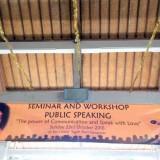 Public Speaking outside
