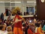 Teatrikal Hanuman Pada Perayaan HUT di Medan