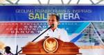 Gubernur Sulawesi Tengah Bapak Drs. H. Longki D. Memberi Sambutan